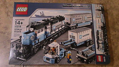 Lego Maersk Train Set #10219 Box Only New! Wow!