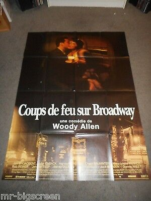 Bullets Over Broadway - Original Huge French Poster - Woody Allen - 1994