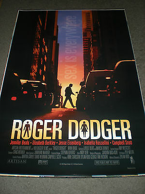 Rodger Dodger - Original Ds Movie Poster - Campbell Scott