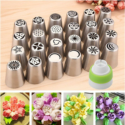 Russian Tulip Flower Cake Icing Piping Nozzles Decorating Tips Baking Sugarcraft