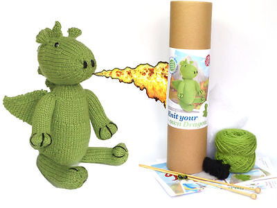 Knit your own Dragon by Apples to Pears