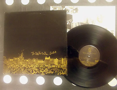 "Josef K ‎""The Only Fun In Town"" LP Postcard 81-7 UK 1981 - INNER"