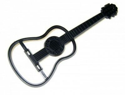 Patchwork Cutters ACOUSTIC GUITAR- Cake Decorating Embosser Cutter