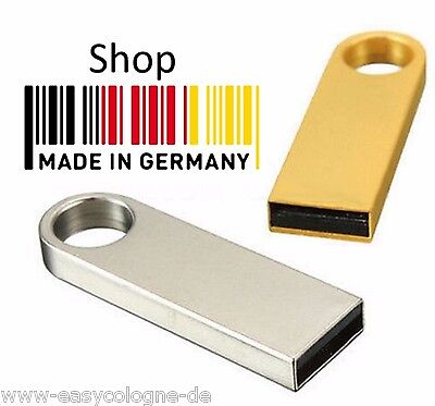 32GB USB Stick Mini Metall SE9 1GB 2GB 4GB 8GB 16GB 32GB  Muster gold silver