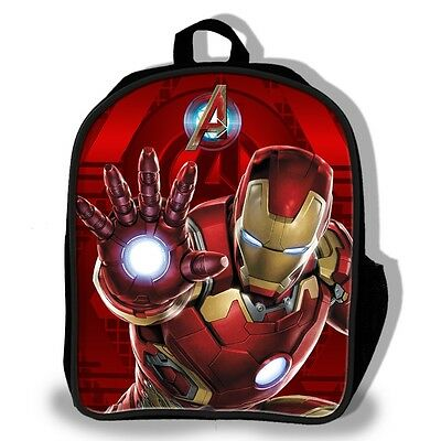 Marvel Comices The Avengers Iron Man Age Of Ultron 3D Art Backpack /Rucksack Bag