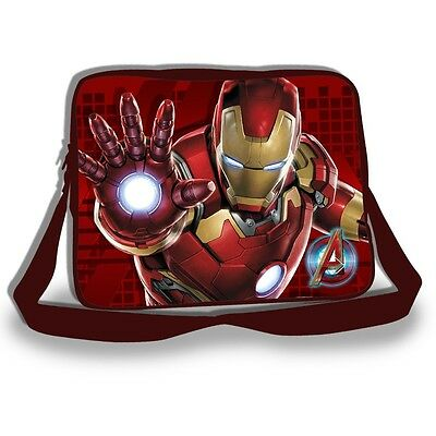 Marvel Comices The Avengers Iron Man Age Of Ultron 3D Art Messenger Bag / School