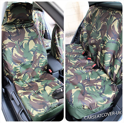 Land Rover Discovery  - Camouflage Waterproof Car Seat Covers - Full Set