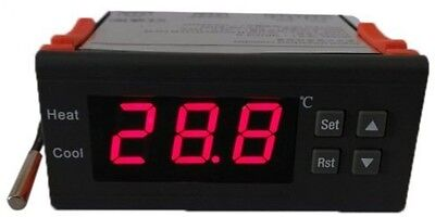 Andoer 10A 12V Digital Temperature Controller Thermocouple -40? To 120?