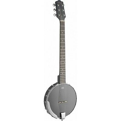 Stagg BJW-OPEN 6 - Banjo 6 cordes Open Back