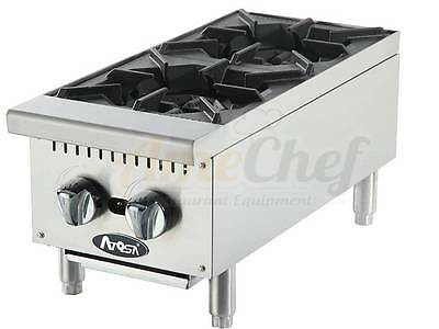 "NEW 12"" Hot Plate Cook Top Range Atosa ATHP-12-2  Open Burner Stove"