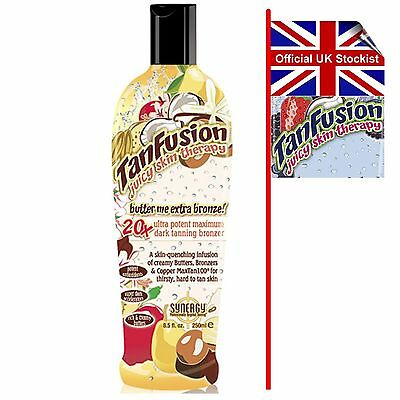 BUTTER ME EXTRA BRONZE TanFusion Tan Fusion Synergy Lotion 250ml FAST DELIVERY