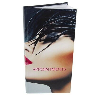 Appointment Book Diary Salons Hair SIDE FACE view 3 - 6 Column Stylish Design