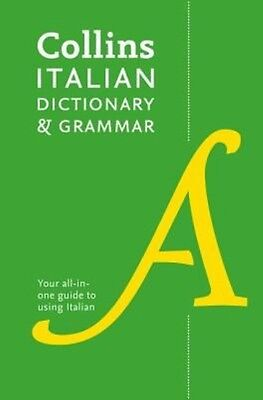 Collins Italian Dictionary and Grammar by Collins Dictionaries Paperback Book