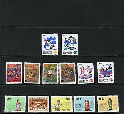 China Lot Of Stamps  & S/s Mint  Never Hinged Scott Value Approximately $20.00