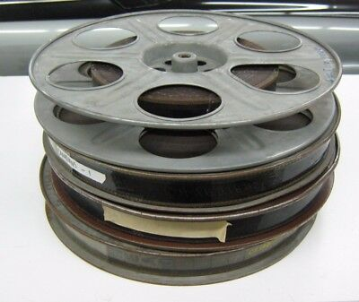 35MM Movie 1961 The Canadians Reels 1, 2, 4, 5  Western Drama