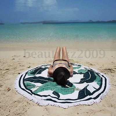 Round Mandala Indian Hippie Yoga Tapestry Beach Picnic Throw Towel Mat Blanket