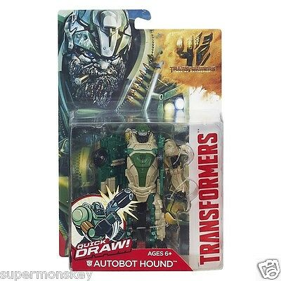 Hasbro Transformers 4 Age Of Extinction Power Attacker Autobot Hound Figure