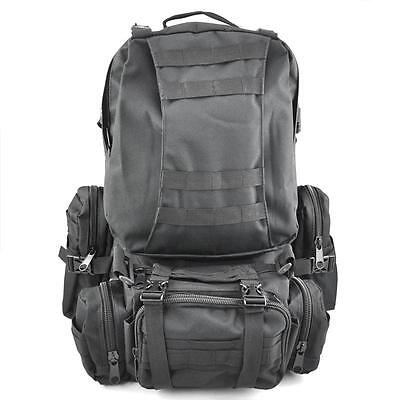 50L Outdoor Military Tactical Rucksack Backpack Shoulder Bag Camping Hiking