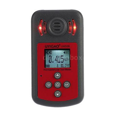 Portable LCD Formaldehyde Tester Monitor Indoor Air Quality Detector Alarm L2Q8