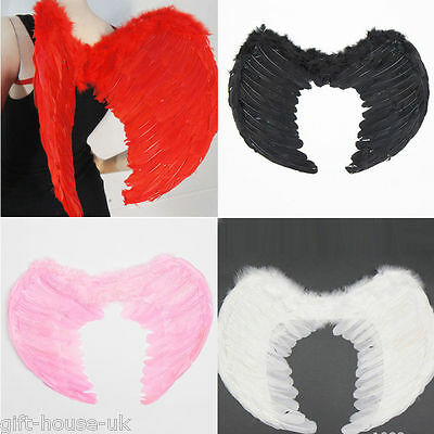 Angel Wings Fancy Dress Party Outfit Fairy Feather Costume Party 4