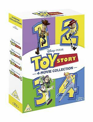 "Toy Story 1-4 Complete Movie Collection Disney 5 Disc Box Set Blu-Ray Rb ""New"""