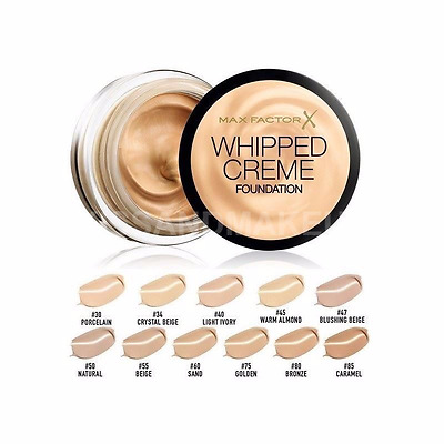 Max Factor Whipped Creme Foundation **FULL SIZE**