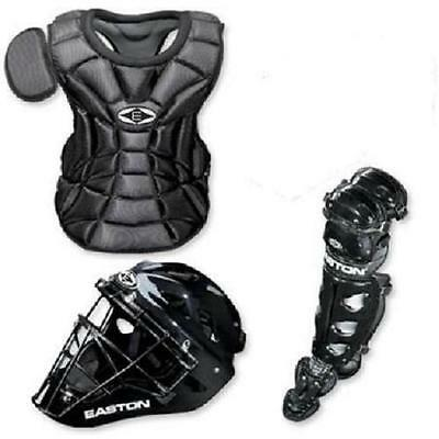 Easton Natural Junior Youth baseball catchers gear Ages 6 - 8 Black