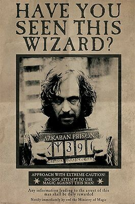 HARRY POTTER (WANTED SIRIUS BLACK) - Maxi Poster 61cm x 91.5cm PP33681 - 669