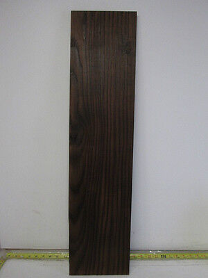 """Roasted Baked Ash Wood Project Piece (3/4'' x 7 3/4'' x 32 1/2"""")"""