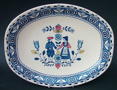 Johnson Brothers Hearts & Flowers Large Size Serving Platter 35cm - Looks in VGC