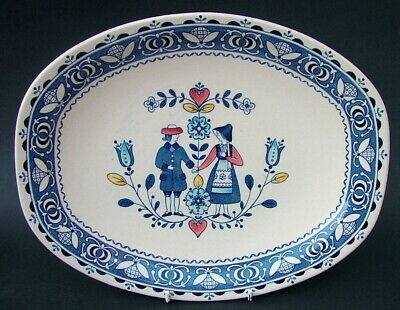 Johnson Brothers Hearts & Flowers Pattern Fruit Salad Bowl 21.5cm Looks in VGC
