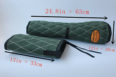 Police Dog Training Bite Sleeve for Training of Young Dogs Thicken Canvas Green