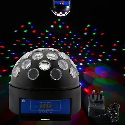 """1byone 8.6"""" LED Dome Light Digital Magic Ball Effect Lighting DMX512 For Stage"""