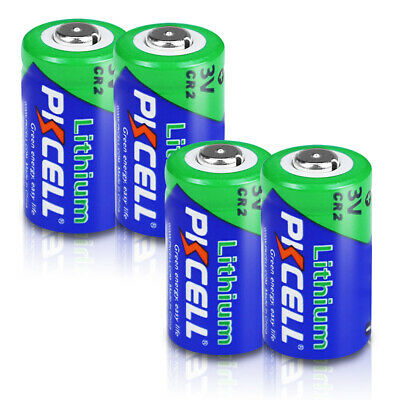 4pcs CR2 850mAh 3V Li-MnO2 Camera Lithium Battery CR15H270 DLCR2 EL1CR2 PKCELL