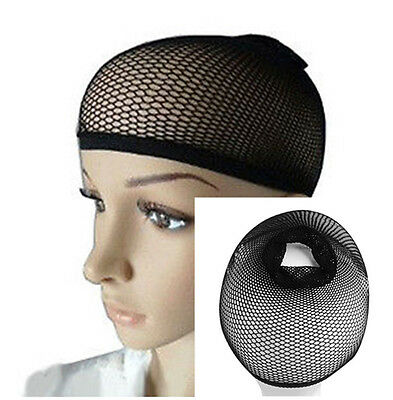 3PCS Stretchable Mesh Wig Cap Elastic Hair Snood Nets for Cosplay & Fashion