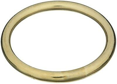 "National Hardware N258-756 3156BC Welded Ring, 2"", Solid Brass"