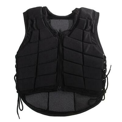 EVA Padded Horse Riding Vest Safety Equestrian Protector Protective Waistcoat
