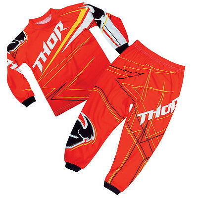 Thor MX Toddler Pajama Set - Red