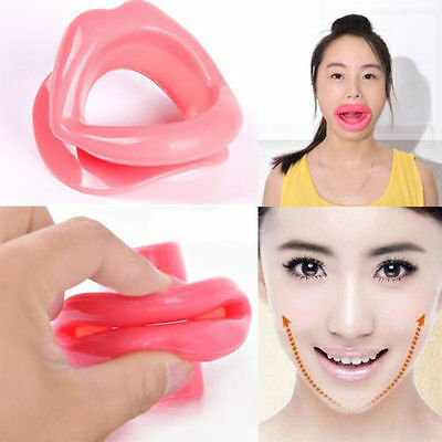 Sale Silicone Rubber Mouth Muscle Trainer Face Slimmer Anti-aging Anti-wrinkle