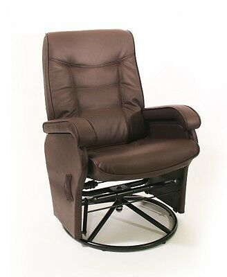 Love N Care Deluxe Glider Chair (Brown)