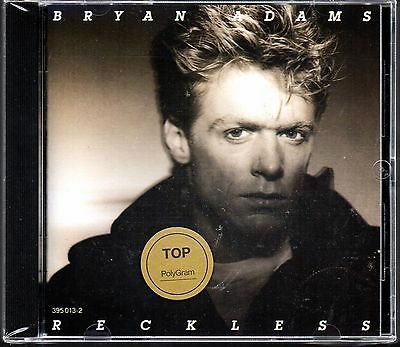 Bryan Adams - Reckless PolyGram 1992  Import CD Sealed $2.99 Ship