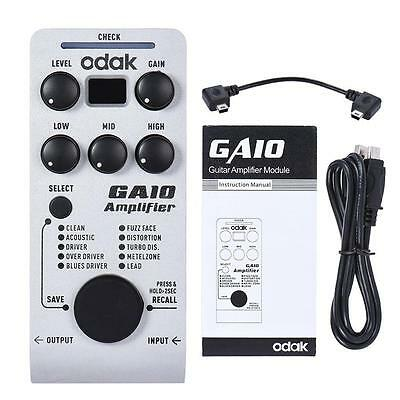 GA10 Innovative Amplifier Guitar Effect Pedal Multi-effects Processor Y1R0