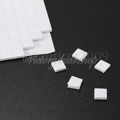 400 Double Sided Adhesive Foam Pads Sticky Fixers For Card Craft Making 5x5x1mm