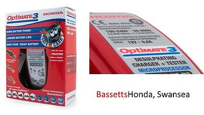 Genuine HONDA OPTIMATE 3 Battery Charger & Conditioner