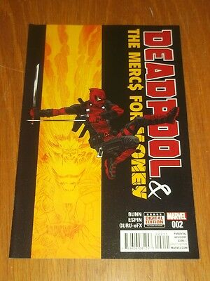 Deadpool & The Mercs For Money #2 Marvel Comics Nm (9.4)