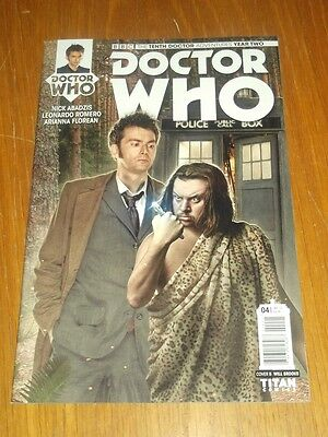 Doctor Who #4 Tenth Doctor Year Two Titan Comics Cover B January 2016 Nm (9.4)