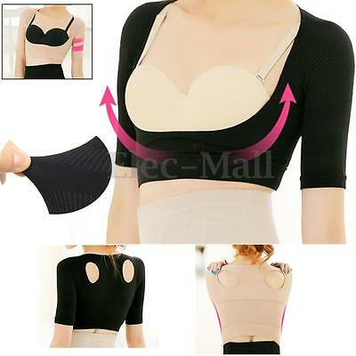 Women Shoulder Back Posture Corrector Chest Support Belt Brace Push Up Bra Vest