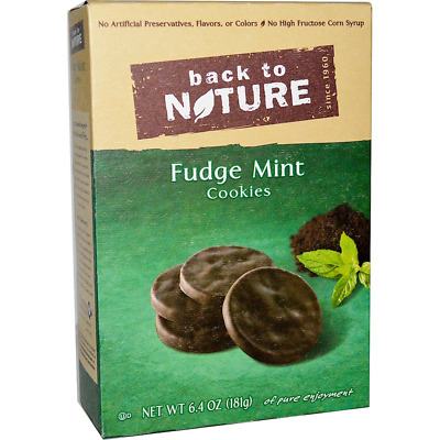 New Back To Nature Fudge Mint Cookies Food Snacks Groceries Daily Healthy Care