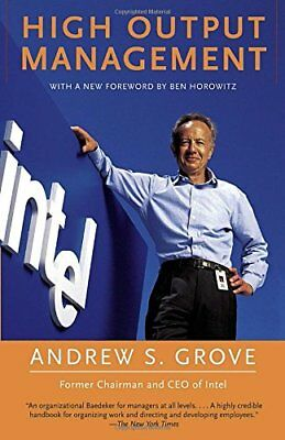 High-Output Management-Andrew Grove