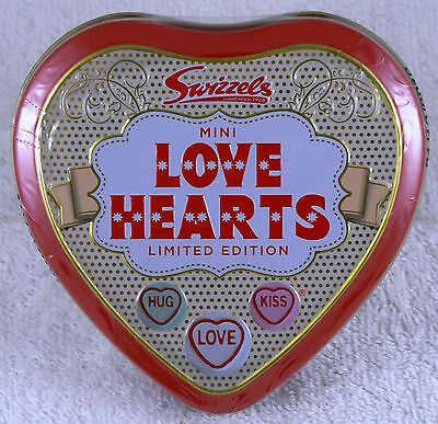 Swizzels Matlow Limited Edition Valentines Day Mini Love Hearts Tin, Love Hearts